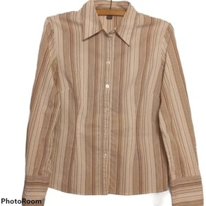 Hennes and Mauritz Shirt - Pin Striped Button Down
